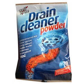 Well Done Drain cleaner powder čistič odpadů na studenou vodu 100 g