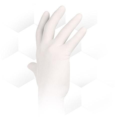 76142f0debf Jednorázové latexové rukavice ASAP vel. M box 100 ks