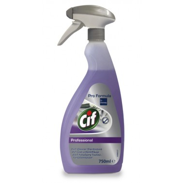 CIF Professional 2in1 Cleaner Disinfectant dezinfekční čistič 750ml