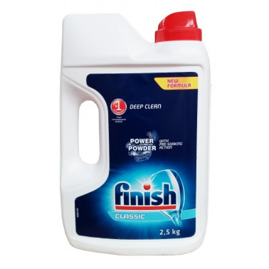 FINISH Classic Power Powder Regular prášek 2,5 kg