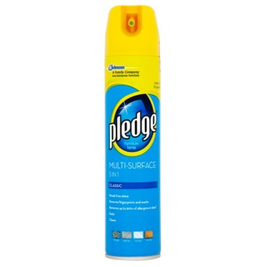PLEDGE Multi Surface Classic proti prachu 250 ml