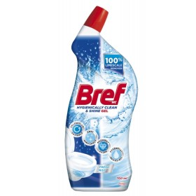 BREF Hygienically Clean & Shine Fresh Mist gelový čistič 700 ml