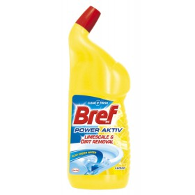 BREF Power Activ Lemon WC čistič 750 ml