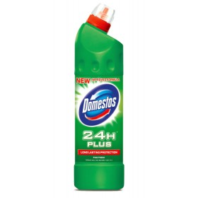 DOMESTOS 24H Plus Pine Fresh WC čistič 750 ml