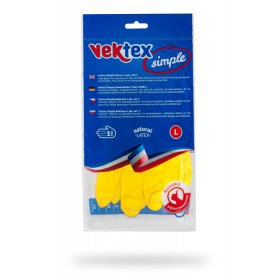 Rukavice latexové Vektex Simple vel. L