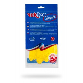 Rukavice latexové Vektex Simple vel. M