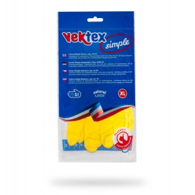 Rukavice latexové Vektex Simple vel. XL