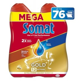 SOMAT Gold gel Neutra Fresh 76 dávek, 2×684ml