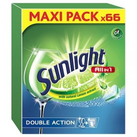 Sunlight All in 1 Regular MAXI PACK tablety do myčky 66ks