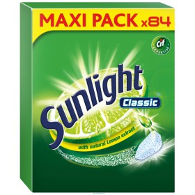 Sunlight Classic Regular MEGA PACK tablety do myčky 84 ks