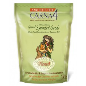 Carna4 Flora Sprouted Seeds 510 g